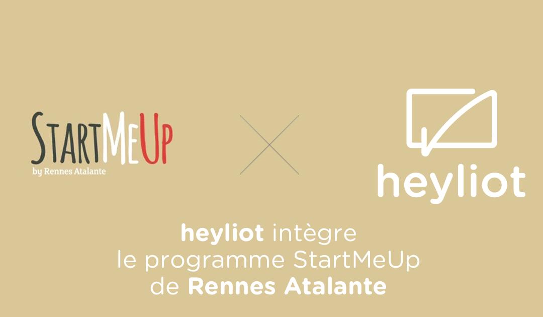Heyliot intègre le programme StartMeUp de Rennes Atalante