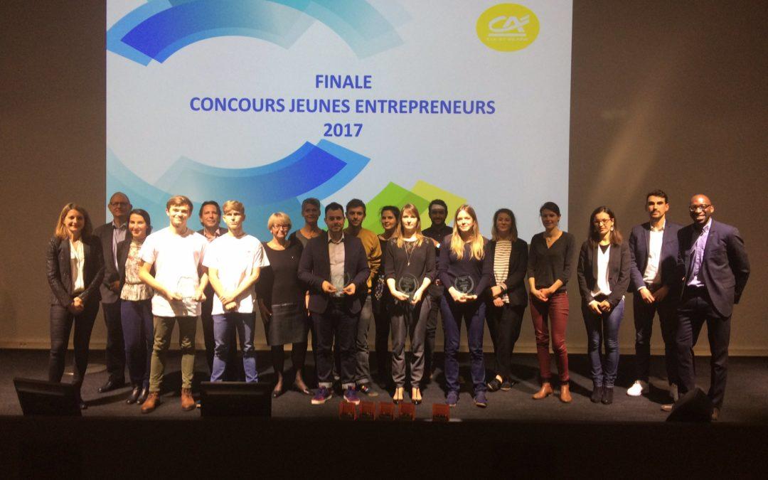 Gagnants du concours Jeunes Entrepreneurs 2017