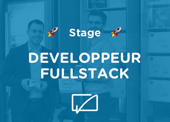 [STAGE] Stage développeur Fullstack JS
