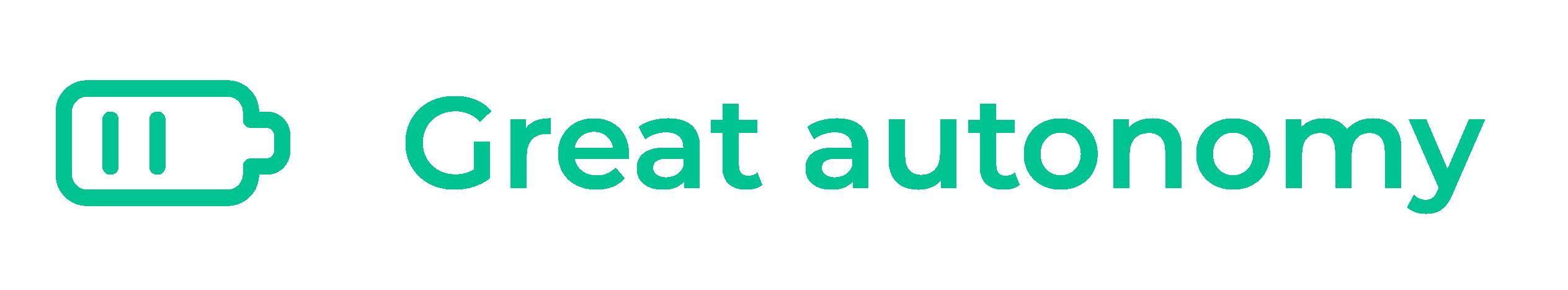 Great autonomy