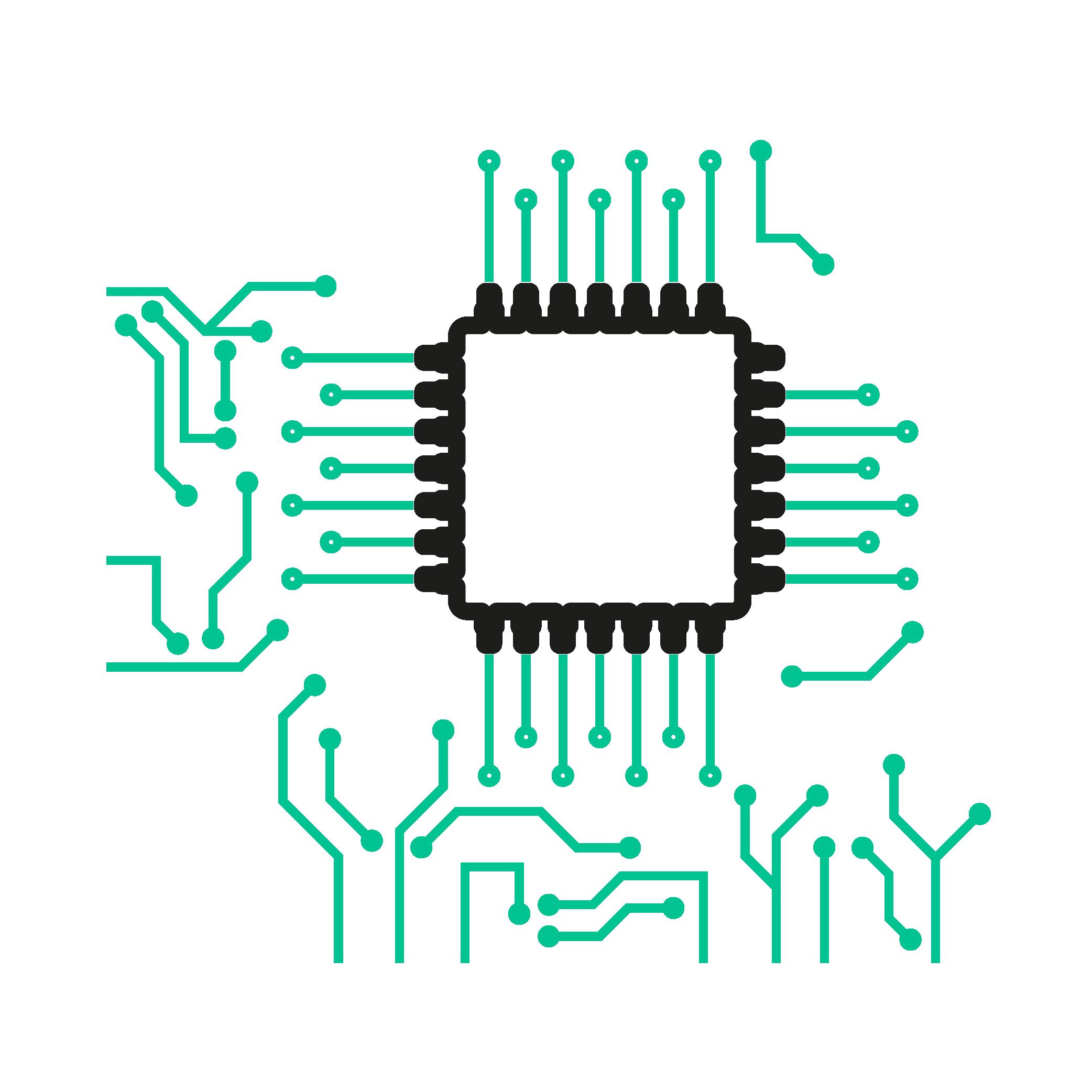 Câblage de la carte électronique